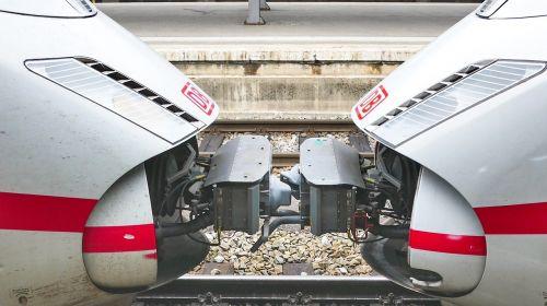 train railway ice
