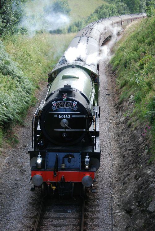 train railway railroad
