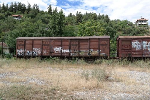 train wagons old