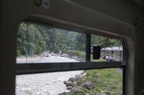 train  window  river