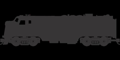 train  locomotive  railroad