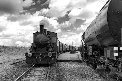 train  steam  railway