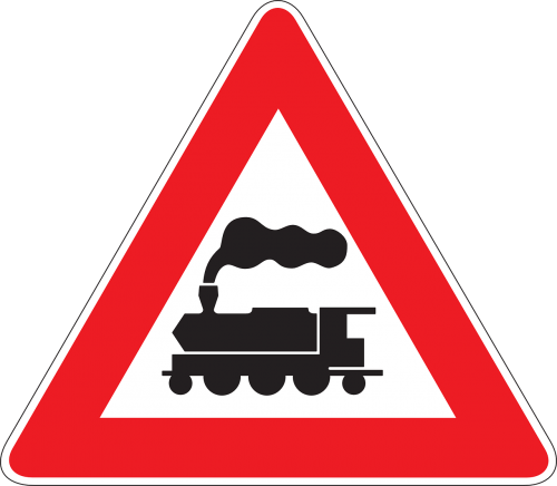 train warning crossing