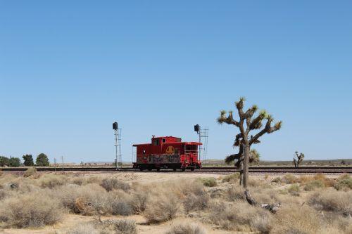 train mojave desert railway