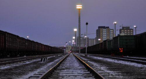 train station railways