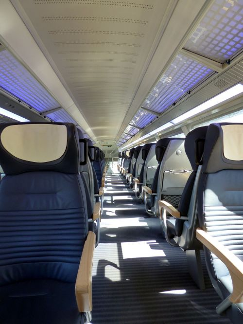 train first class compartment