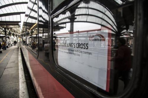 Train On The Platform