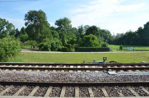 train railway light rail gleise