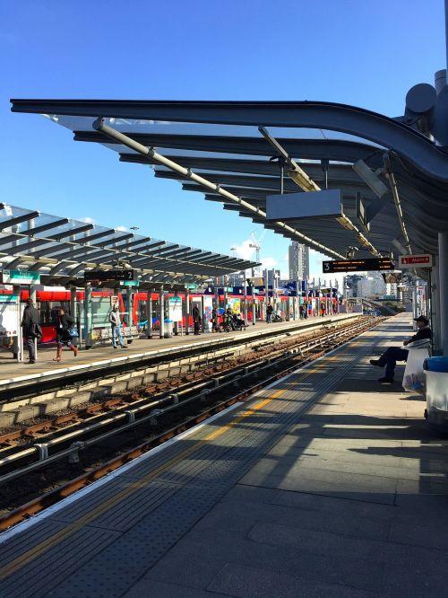 train station docklands light railway transportation