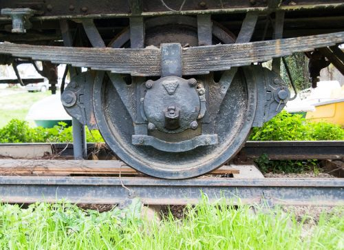 train wheel old train railway