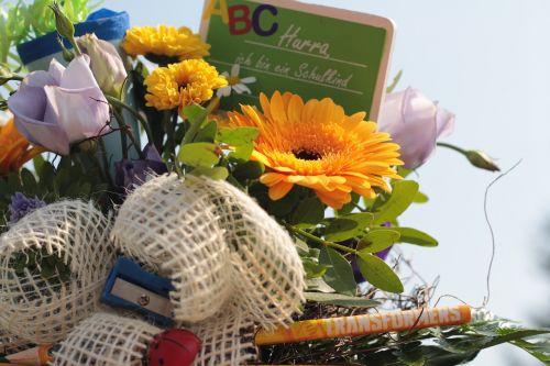 training bouquet schultüte