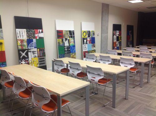 training room business desk
