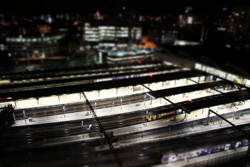 trains train station leeds