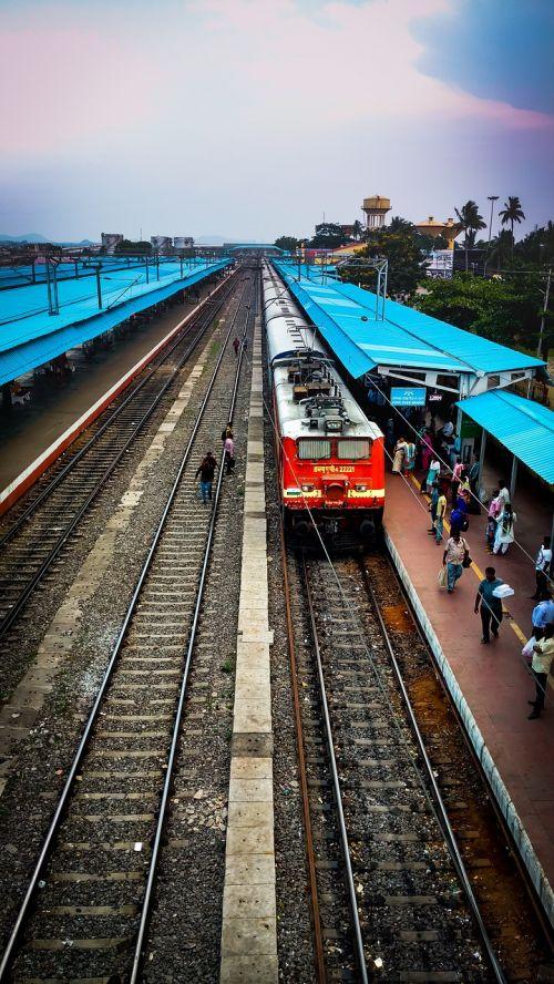 trains travel transport