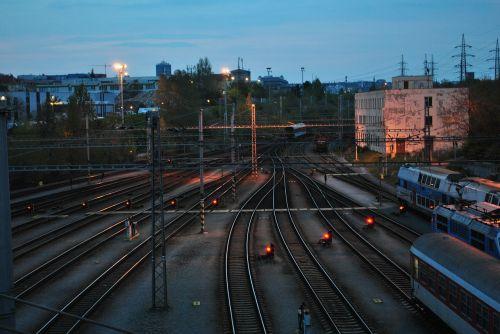 trains track wagon