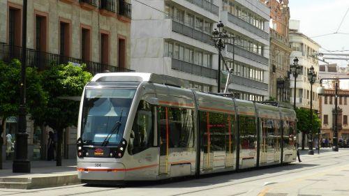 tram seville streetcar