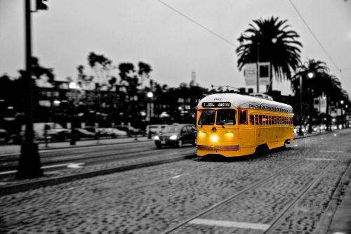 tram trolley train san francisco