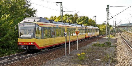 tram railroad trasse regionatverkehr