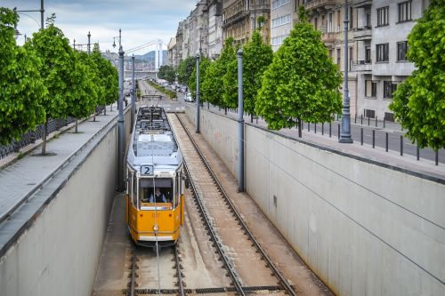 tram transport transportation