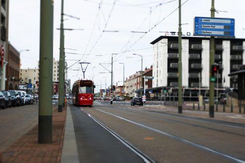 tram public transport scheveningen