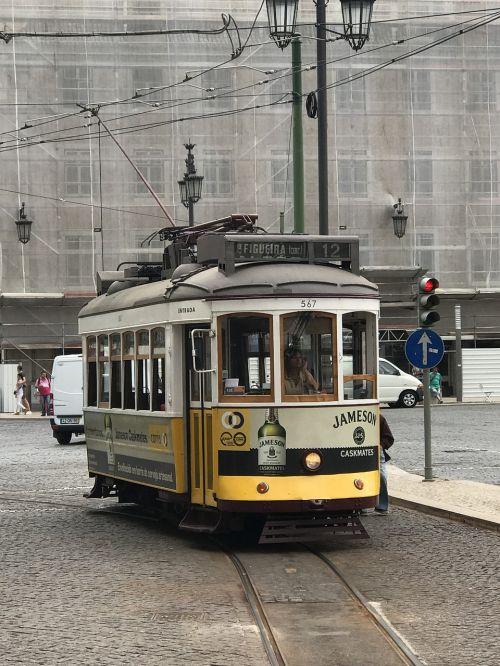 tram postage old