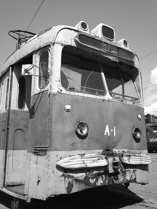 tram  the tram depot  old tram
