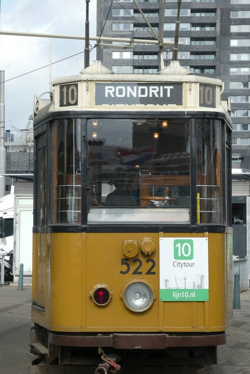 tram  rotterdam  nostalgia