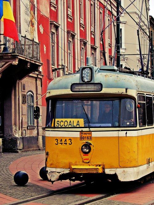 tram  timisoara  romania
