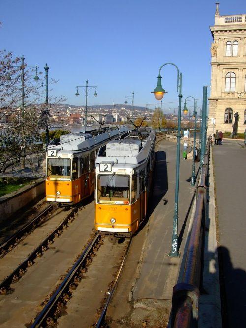 tram budapest hungary