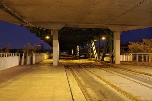 tram rails railway the viaduct