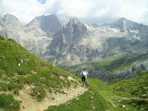 transalp mountain bike bike