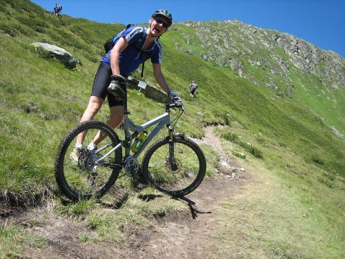 transalp mountain bike bergsport