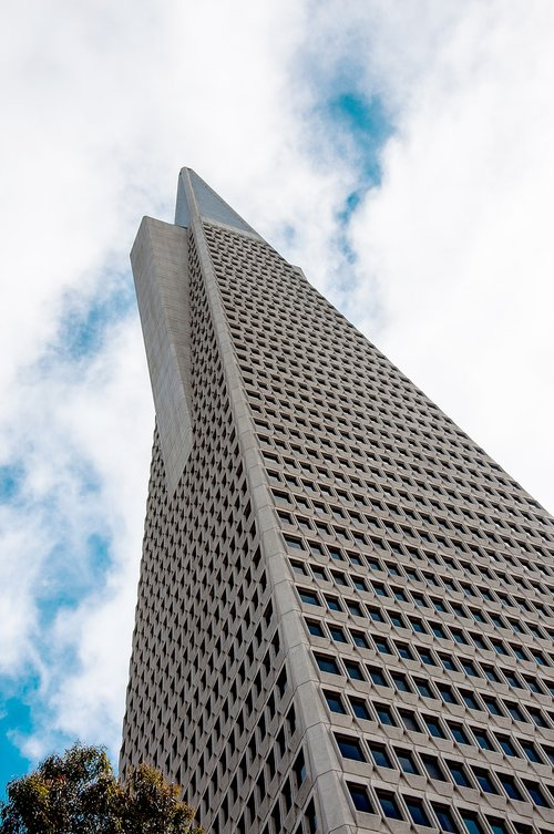 transamerica pyramid  san francisco  building