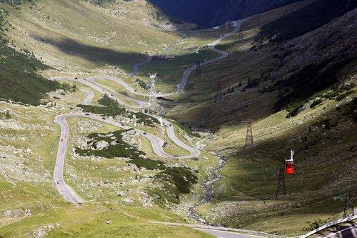 transfagarasan  romania  mountain