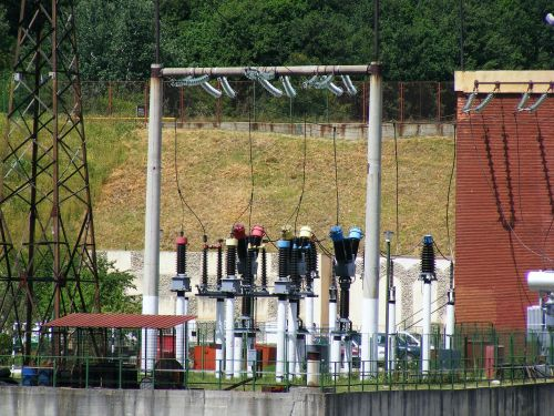 transformer substation electricity