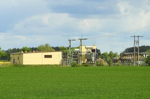 transformer station substation electricity