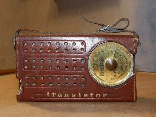 transistor radio old