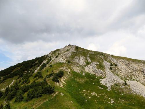 translucent mountaintop summit ammergau mountains