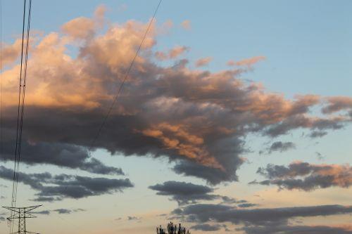 transmission line clouds