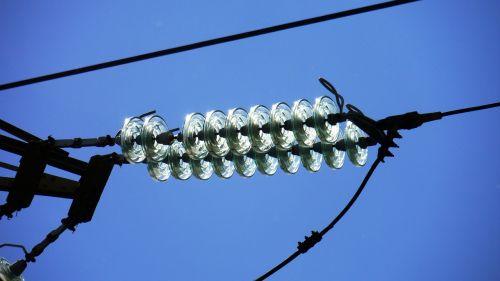 transmission line high voltage glass