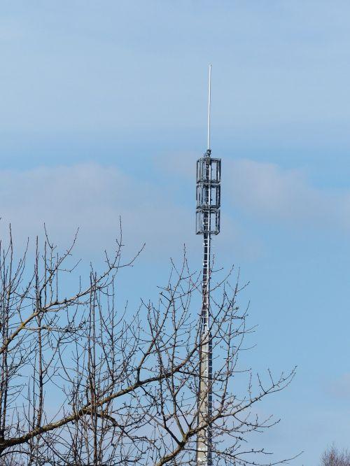 transmission tower mast radio antenna