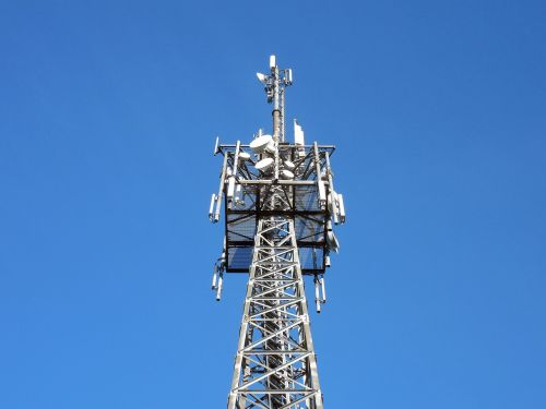 transmission tower send radio