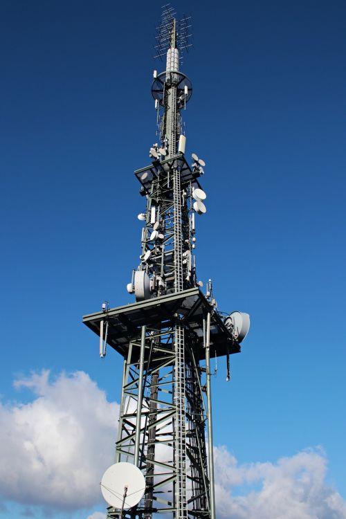 transmission tower radio tower radio mast