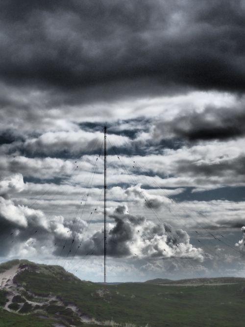 transmission tower communication radio tower