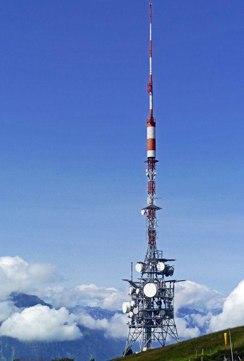 transmission tower radio watch tv