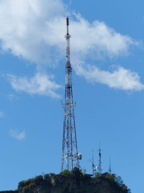 transmission tower radio mast monte brione