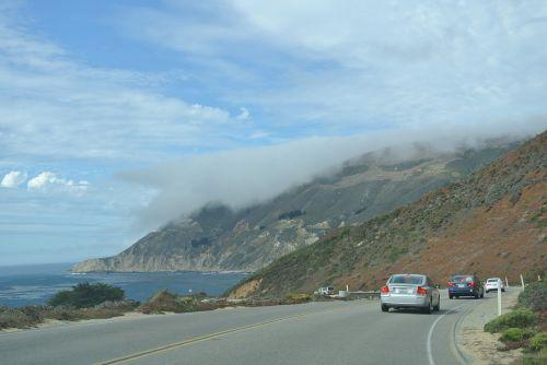 transpacific highway big sur