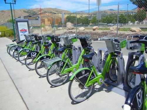 transport renting a bicycle salt lake city
