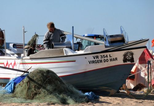 transport fishing boat visser