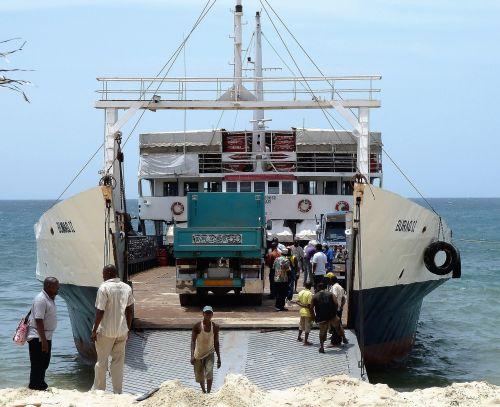 transport ferryboat sea